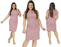 Весеннее платье из креп-костюмки