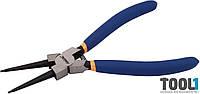 Щипцы для снятия стопорных колец (прямые/сжим) 180 мм MIOL 43-035