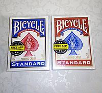 Карты игральные Bicycle Standard для фокусов и покера