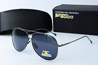 Солнцезащитные очки Porsche черные, фото 1