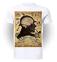 Футболка Geek Land Шерлок Холмс Sherlock Holmes Brain SH.001.20