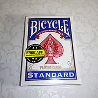 Карты Bicycle Standard Blue (синие)