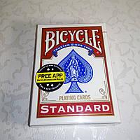 Карты Bicycle Standard Red (красные)