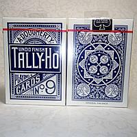Карты Tally-Ho (Original Fan Back) Blue - синие