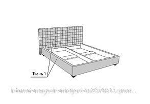 Двуспальная кровать-подиум Квадро, фото 3