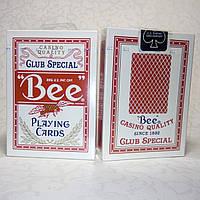 Карты для покера Bee standard Red (красные)