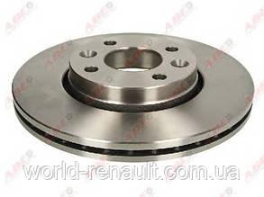 Тормозной диск на Рено Логан 2, Логан МСV 2, Сандеро Степвей 2 D=258мм/ ABE C3R045ABE