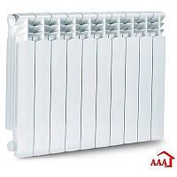 Алюминиевый радиатор отопления 500/75В. Алюмінієві радіатори опалення. Радиаторы для отопления.