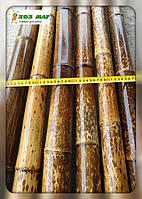 Бамбуковый ствол леопардовый (пятнистый), длина 4 м, д. 6-7 см.
