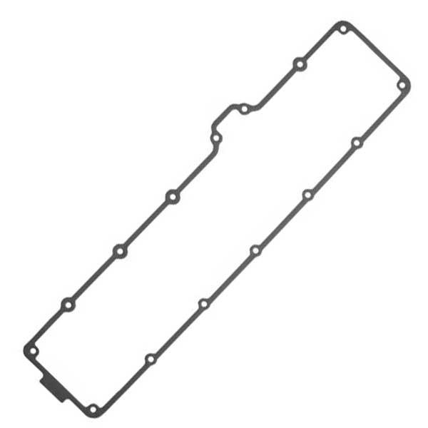R527884, Прокладка крышки клапанов металлическая (R518263), JD 9.0L