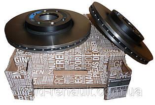 Комплект тормозных дисков на Рено Логан 2, Логан МСV 2 D=260мм/ Renault ORIGINAL 7701207795