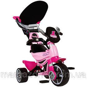 Трехколесный велосипед BODY SPORT розовый Injusa 3252