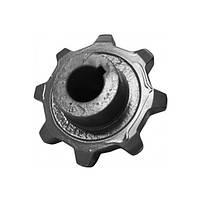 H164796, Звездочка Z=8 (верхняя, привода цепи зернового элеватора) (Z78315), JD9640-9780, 9540-9560