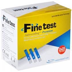 Тест-полоски для глюкометра Finetest Auto-coding Premium (50шт)