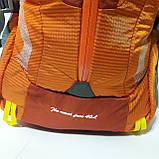 Спортивный рюкзак The North Face 40 л стильный яркий оранжевый, фото 3