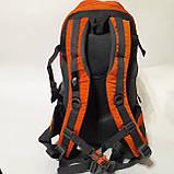 Спортивный рюкзак The North Face 40 л стильный яркий оранжевый, фото 4