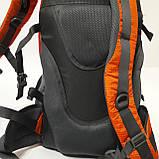 Спортивный рюкзак The North Face 40 л стильный яркий оранжевый, фото 5