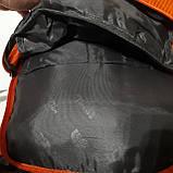 Спортивный рюкзак The North Face 40 л стильный яркий оранжевый, фото 6