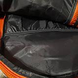 Спортивный рюкзак The North Face 40 л стильный яркий оранжевый, фото 8