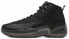 Мужские баскетбольные кроссовки Nike Air Jordan 12 OVO Black. ТОП Реплика ААА класса.