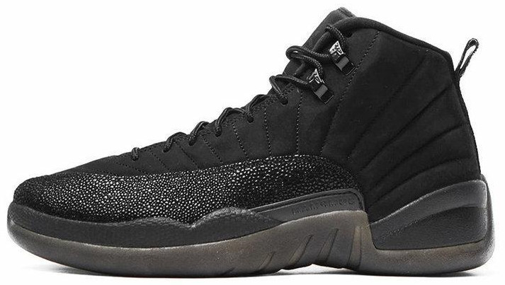 Мужские баскетбольные кроссовки Nike Air Jordan 12 OVO Black  1 370 ... 7ac7705bbab