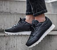 Кроссовки Reebok Classic Leather *Pearlized* Black / White