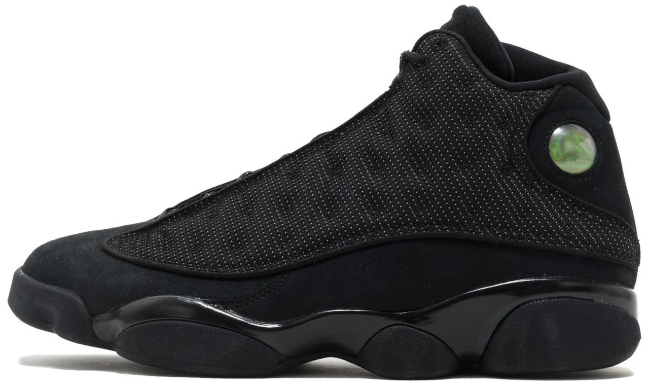 Мужские баскетбольные кроссовки Nike nike Air Jordan 13 Retro Black Cat. ТОП Реплика ААА класса.