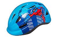 Шолом дитячий R2 Armour блакитний Superhero XS (46-52см)