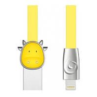 Кабель ROCK Space Chinese Zodiac Lightning (Cow-Yellow)