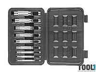 Крейцмейсель для отверстий 3-12мм, набор 9 шт. HOUSETOOLS 03K490