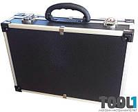 Кейс для инструмента алюминиевый черный HOUSETOOLS 79K221