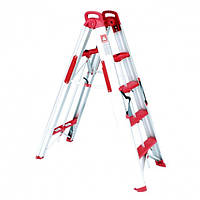 Intertool Лестница-стремянка раскладная трансформер 1360мм