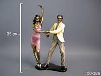 "Фигурка декоративная ""танцующая пара"", 35 см, в кор. 4 шт."