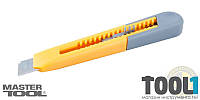 Нож пластиковый 18мм MASTERTOOL 17-0321