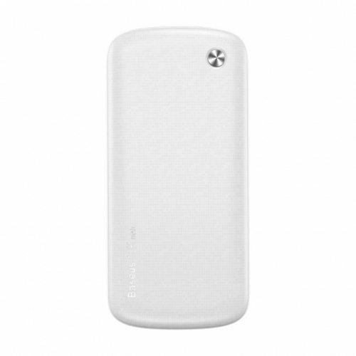 Внешний аккумулятор Baseus Plaid 10000 mAh White (PPALL-GZ02)