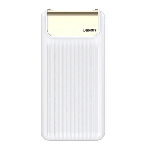 Внешний аккумулятор Baseus Thin Quick Charge 3.0 10000 mAh White (PPYZ