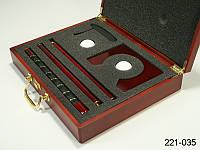 Набор для игры в гольф 5 пр. в деревян. коробке