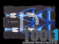 Набор съемников стопорных колец, ложемент EVO, 4 предмета KINGTONY 9-42114GPV