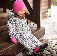 Зимний детский комбинезон для девочки Crockid мембранная ткань