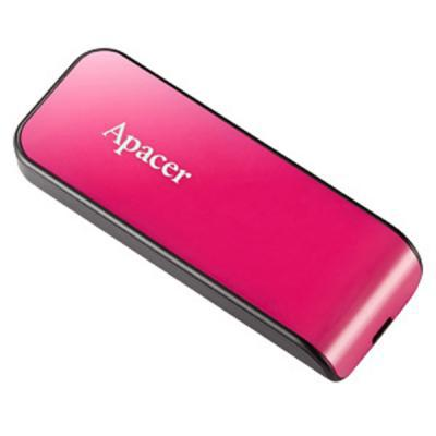 Карта памяти 8GB Apacer AH334 Pink (AP8GAH334P-1)