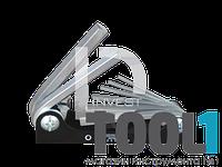 Шестигранники (комплект) складные 8пр. KINGTONY 20218MR