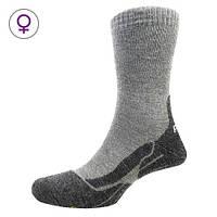 Шкарпетки жіночі P.A.C. Trekking Classic Wool сірий 38-41
