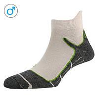 Шкарпетки чоловічі P.A.C. Trekking Superlight білий/зелений 44-47