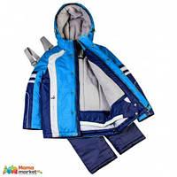 Комплект зимний для для мальчика Baby LIne 2016 спорт, цвет Голубой