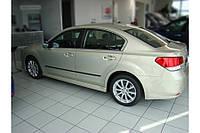 Молдинги на двери Subaru Legacy