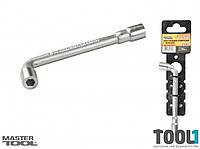 Ключ торцевой 7 мм с отверстием L-образный MASTERTOOL 73-4007