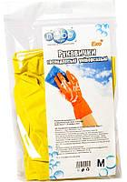 Перчатки резиновые ТМ NEBOlight (размер М)