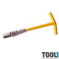 Ключ свечной подпружиненный Sigma 16мм (6030011)