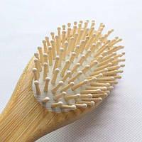 Натуральная бамбуковая расческа от секущихся кончиков