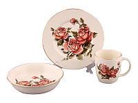 """Набор для завтрака """"корейская роза"""", 320 мл"""